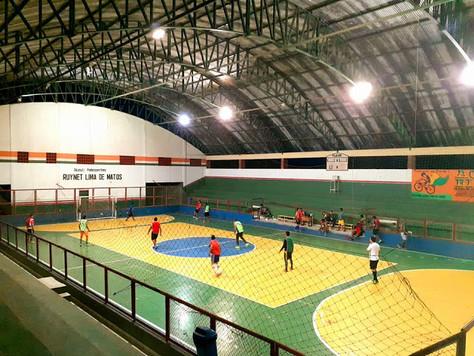 Ginásio Ruynet Lima de Matos oferece horário para locação esportiva em Tarauacá