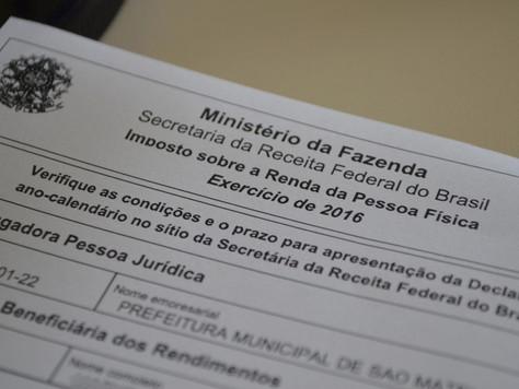 SERVIDORES: COMPROVANTE DE RENDIMENTOS DE 2018 JÁ ESTÁ DISPONÍVEL NA PREFEITURA DE TARAUACÁ