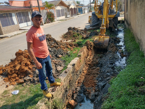 Prefeitura realiza substituição e ampliação da rede de esgoto no Bairro da Cohab