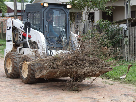 Operação cidade limpa se estende durante o final da semana a vários pontos da cidade