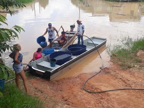Prefeitura auxilia famílias atingidas pela enchente em Tarauacá