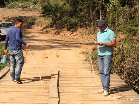 Prefeitura realiza vistorias para recuperação de mais pontes na zona rural de Tarauacá
