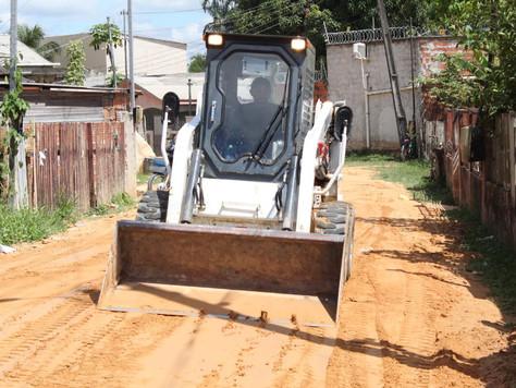 Prefeitura de Tarauacá intensifica recuperação de ruas