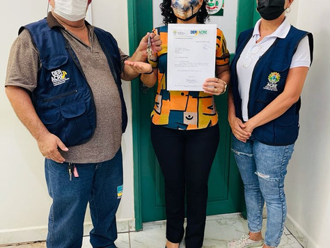 Governo doa área de 175 mil m² para construção de conjunto habitacional em Tarauacá