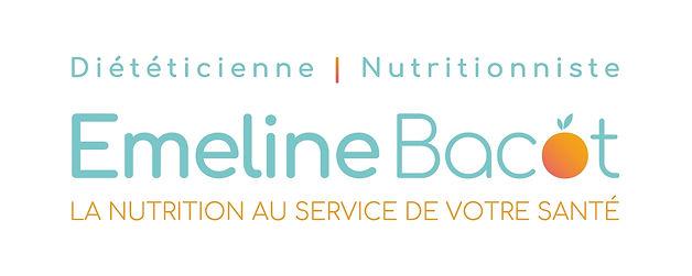 Logo Emeline Bacot diététicienne