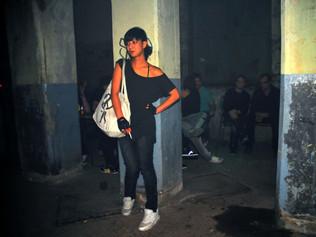 Girl in Bunker