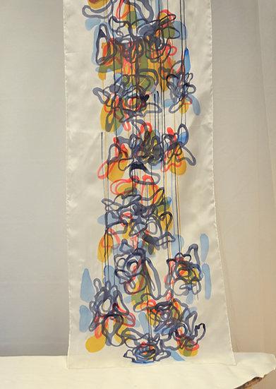 Royal blood Silk scarf