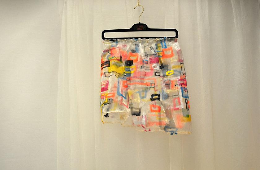 Entangled geometrics Skirt
