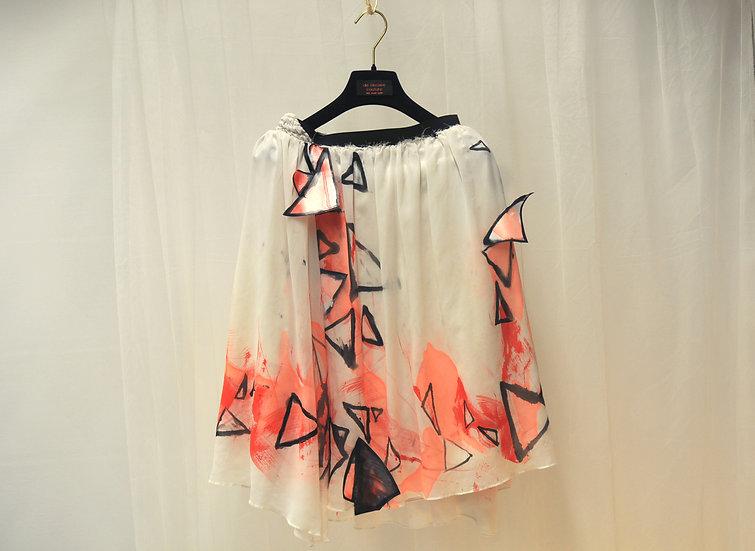 Triangle Fairytale Midi Skirt