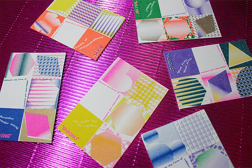 RISO CARD | GALACTIC MICROORGANISM OBSERVATION JOURNAL