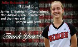Julie Veterans Photo
