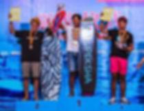 First Place Podium for Upeksha, Gawa