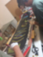 Gawa Kiting board graphics