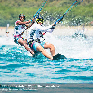 TT:R Open Slalom World Championships, Hang Loose Beach, Italy