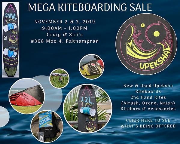 Kiteboarding Sale Thailand