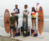 Podium winners for Thai Nationals on Gawa Upeksha boards