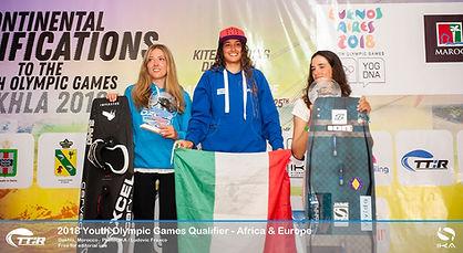 Sofia Tomasoni wins first place on an Upeksha Gawa