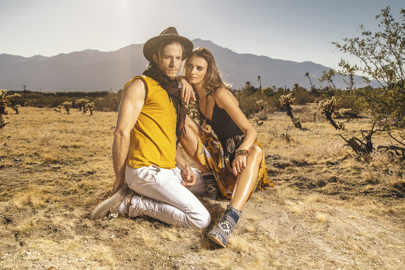 Couples Session at Joshua Tree
