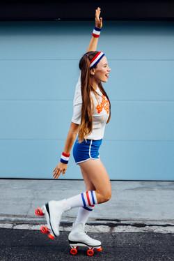 Roller girl photoshoot.