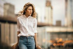 Professional model photoshoot NYC