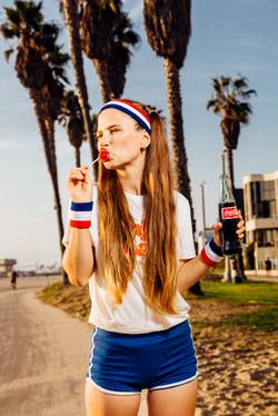 Retro photoshoot with Lollipop &Cola