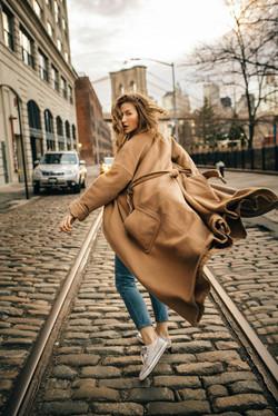 Fashion photographer in New York.