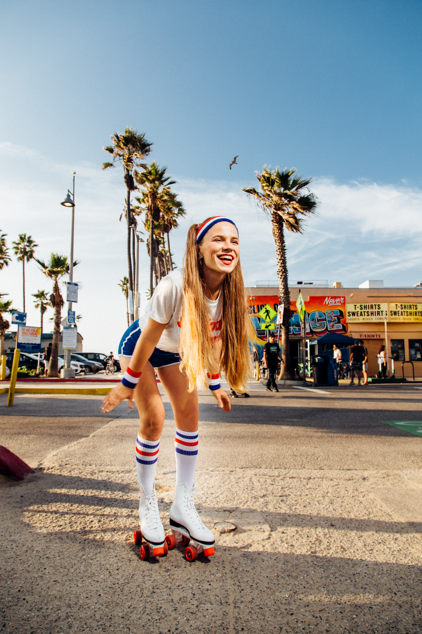 Retro Photoshoot in Venice Beach