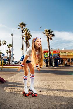 Retro Photoshoot in Venice Beach
