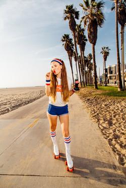 Retro photoshoot in Los Angeles