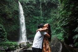 Engagement at Hawaiian Falls