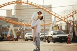 Romantic engagement photographer