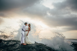 Romantic wedding photoshoot