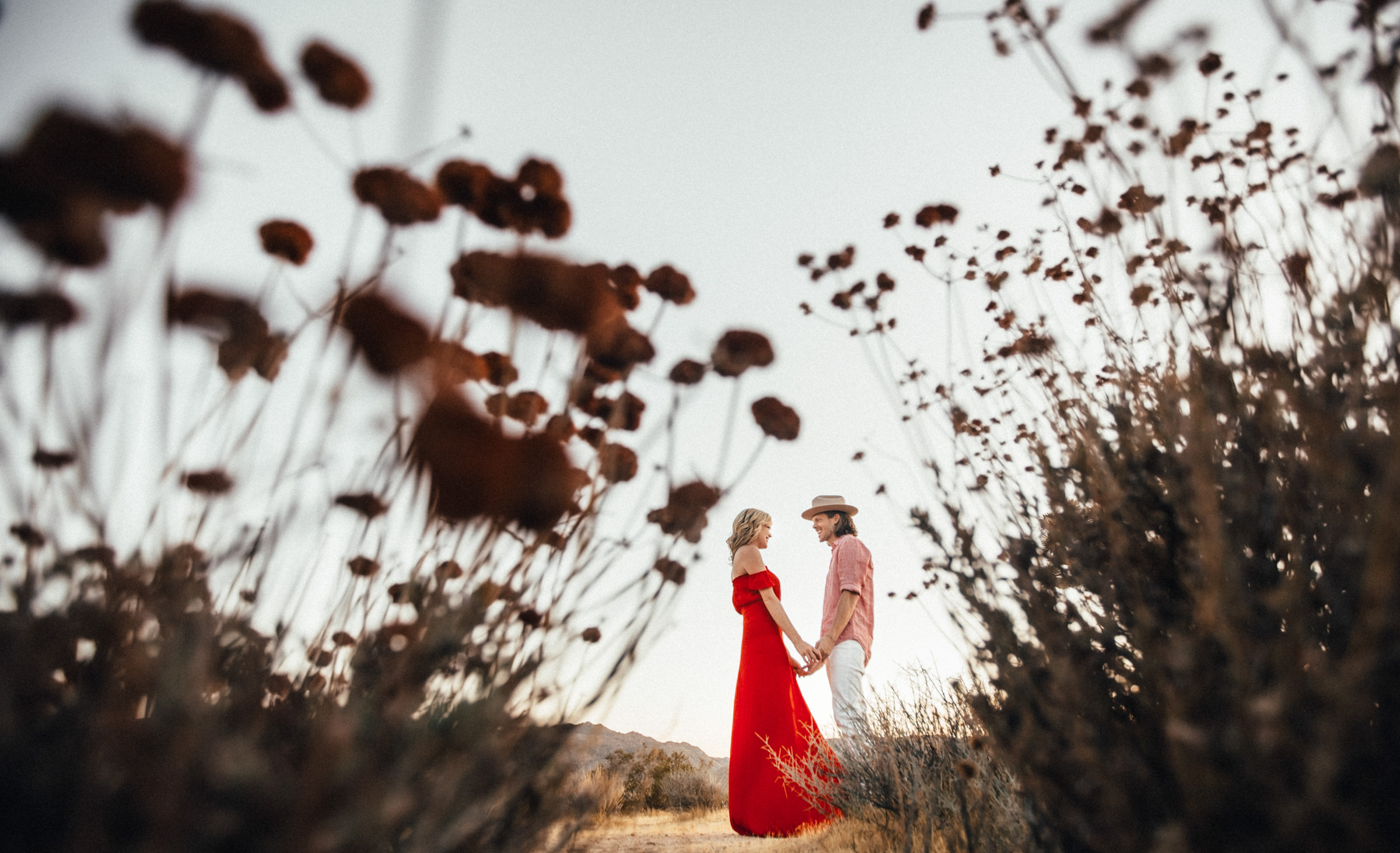 Joshua Tree Engagement Session Jordan an