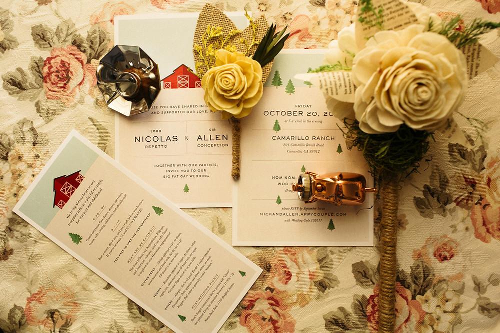 Shoot Wedding Details. LGBT friendly Photographer Alex Shevchik. Same sex wedding photography in California.