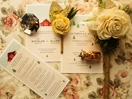 Elements of a Great Wedding Invitation