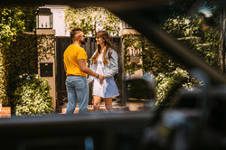 Engagement photo session in Los Angeles