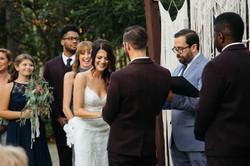 Photo session wedding ceremony