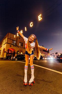 Stylish Photoshoot in Venice Beach