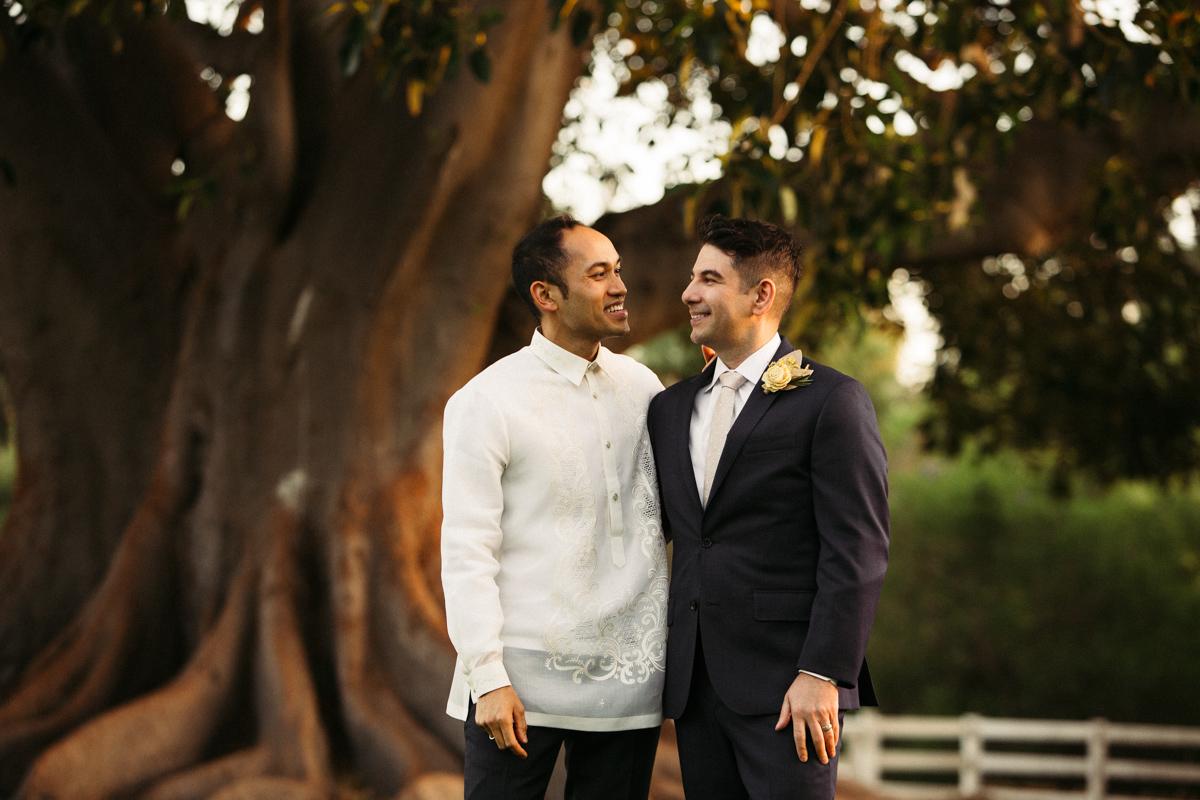 Gay wedding photoshoot LA