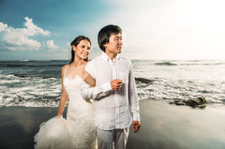 Intimate wedding photoshoot