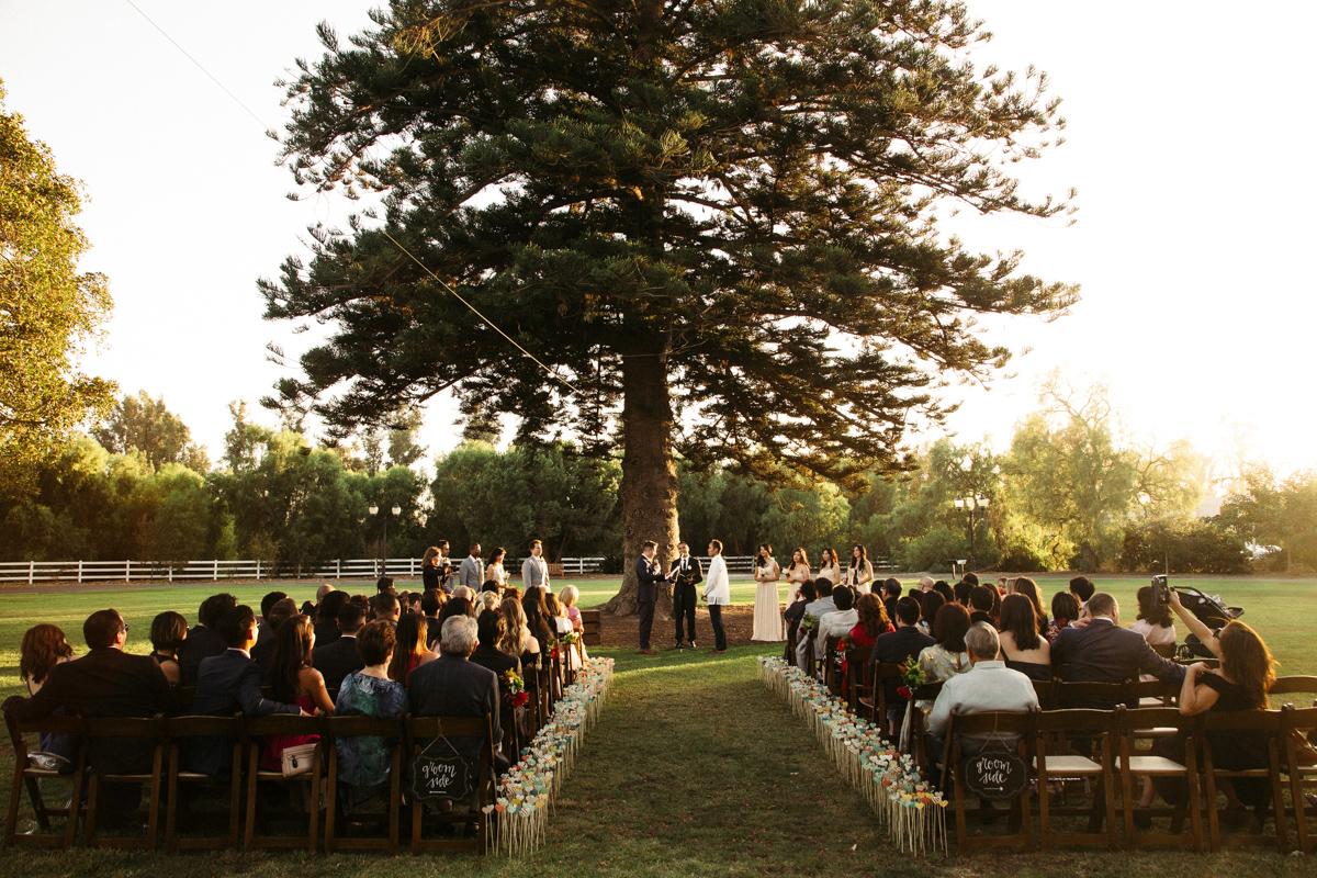 Photo of the wedding gay ceremony