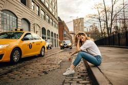 Model photoshoot in New York