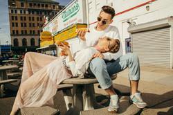 Fashion photographer couple