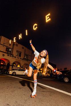 Original photoshoot with sign Venice