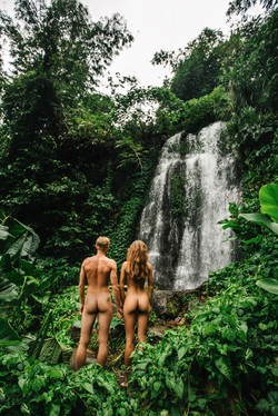 Photoshoot love story of Adam & Eva