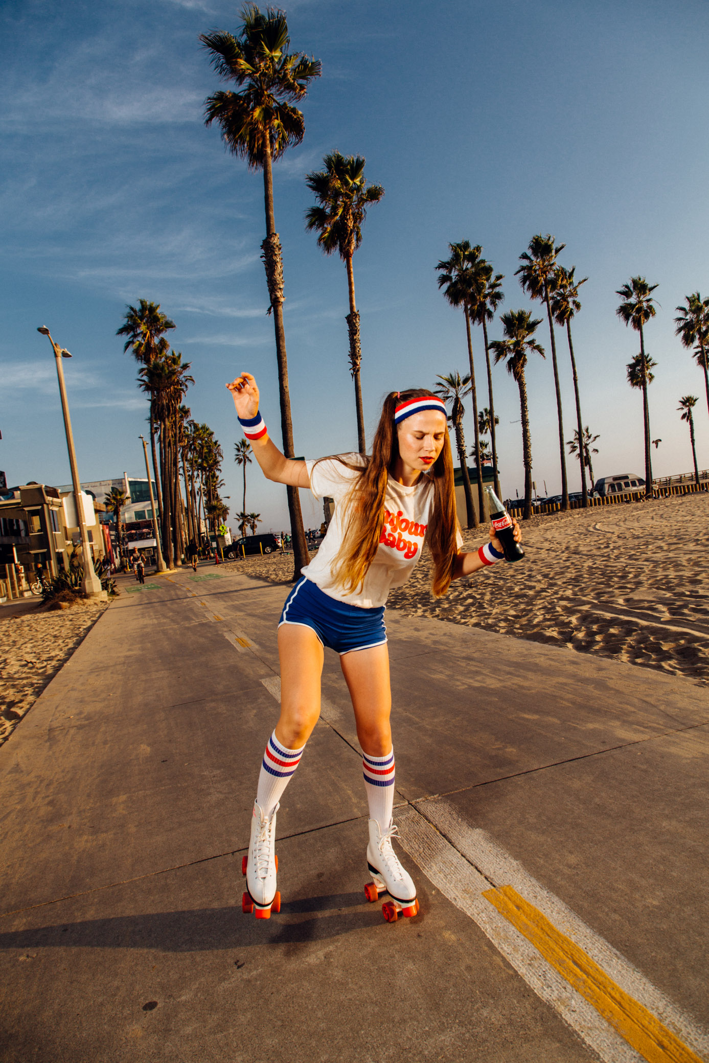 Roller skates Photoshoot on Venice