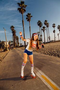 Roller skates Photoshoot on Venice