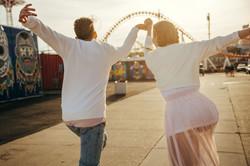 Romantic engagement photoshoot