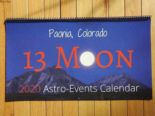 2020 Calendar 13 Moon