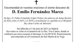 Fallece el padre de D. Pablo